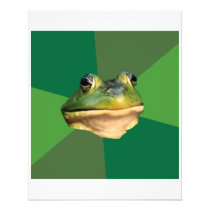 Foul Bachelor Frog Advice Animal Meme Flyer
