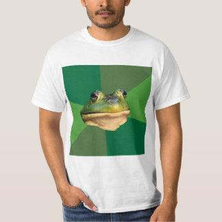 Foul Bachelor Frog Advice Animal Meme Tee Shirts