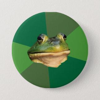 Foul Bachelor Frog Button