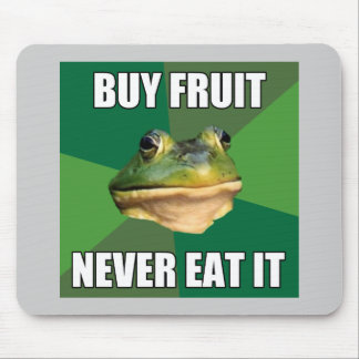 Foul Bachelor Frog Buy Fruit Mouse Pad