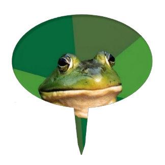 Foul Bachelor Frog Cake Topper