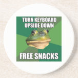 Foul Bachelor Frog Free Snscks Coasters