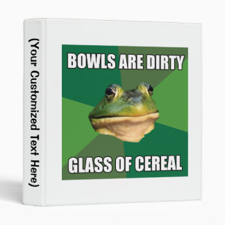 Foul Bachelor Frog Glass of Cereal Binders
