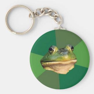 foul bachelor frog ( key chain )