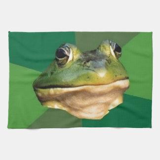Foul Bachelor Frog Kitchen Towels