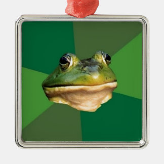 Foul Bachelor Frog Metal Ornament