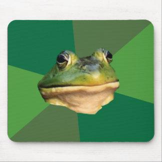 Foul Bachelor Frog Mouse Pad