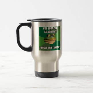 Foul Bachelor From Ashtray Can Travel Mug