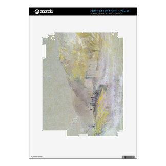 Foul by God: River Landscape with Anglers Fishing iPad 3 Skins