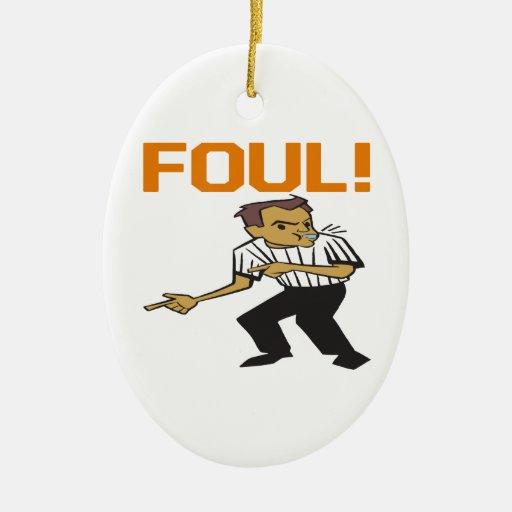 Foul Christmas Ornaments