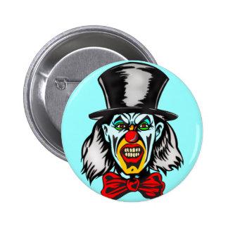 Foul Evil Clown 2 Inch Round Button