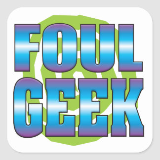 Foul Geek v3 Sticker