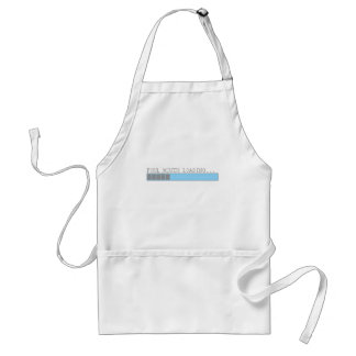 Foul mouth loading funny mens girls humor adult apron