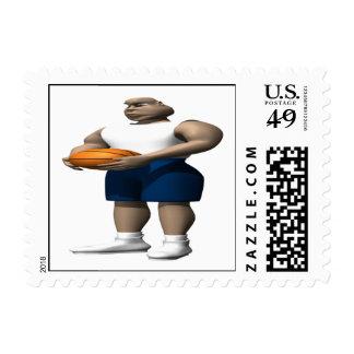 Foul Shot Postage Stamp