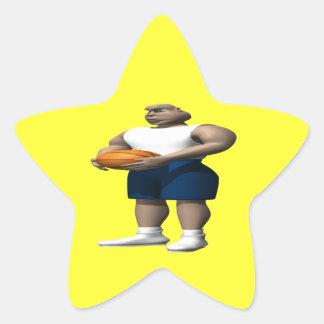 Foul Shot Star Sticker