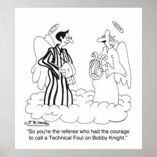¿Foul técnico en el caballero de Bobby? Póster