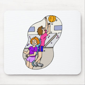 foul up for the layup mouse pad