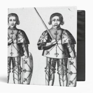 Foulques III Nerra   and Geoffroy II Martel 3 Ring Binder