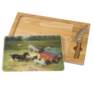 Found a Toy by Frank Paton Cheese Board