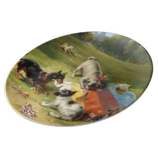 Found a Toy by Frank Paton Plate