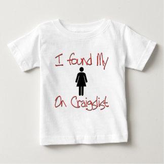 Found Girlfriend/Boyfriend ONLINE Baby T-Shirt