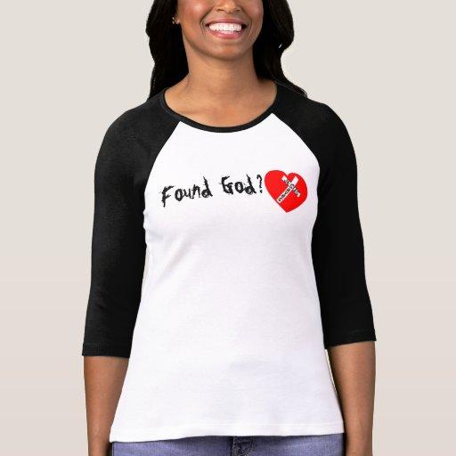 Found God? - jesús Saves (Heart) Tee Shirt