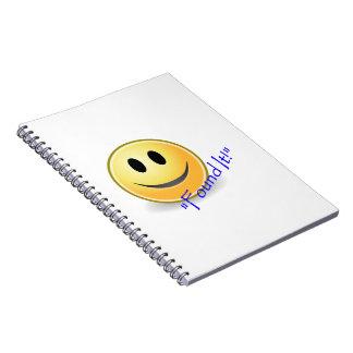 Found It! Geocaching Notebook