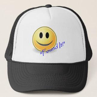 Found It! Geocaching Trucker Hat