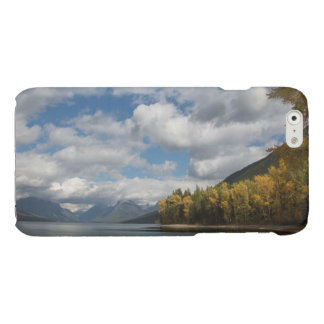 found lake  in glacier national park glossy iPhone 6 case