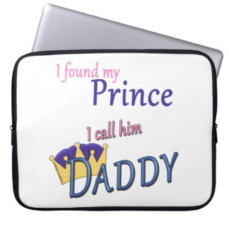 Found My Prince Called Daddy Laptop Sleeve