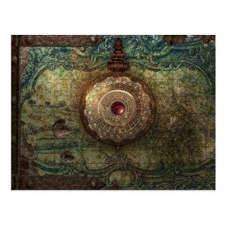 found treasure post card