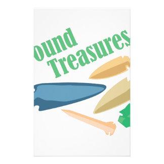Found Treasures Stationery