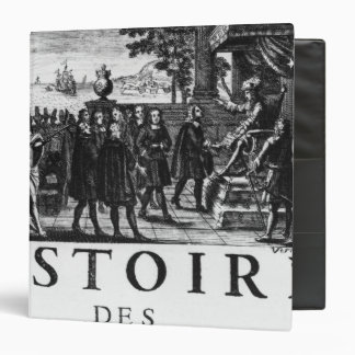 Foundation by Louis XIV, king of France 3 Ring Binder