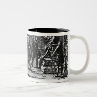 Foundation by Louis XIV, king of France Two-Tone Coffee Mug
