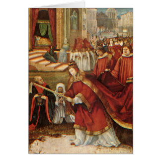 Foundation In Rome By Mathis Grunewald Gothart Greeting Card