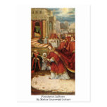Foundation In Rome By Mathis Grunewald Gothart Post Card