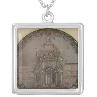Foundation medal of Val-de-Grace Silver Plated Necklace