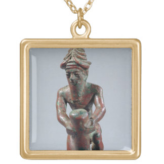 Foundation nail of Gudea, Prince of Lagash, from T Gold Plated Necklace