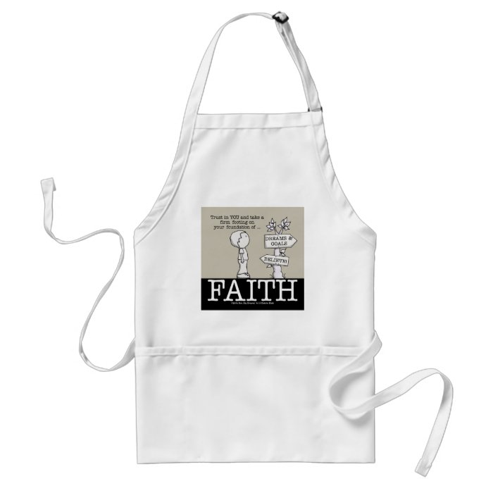 Foundation of Faith Adult Apron