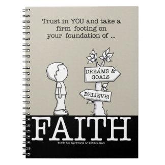 Foundation of Faith Notebook