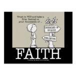 Foundation of Faith Postcard