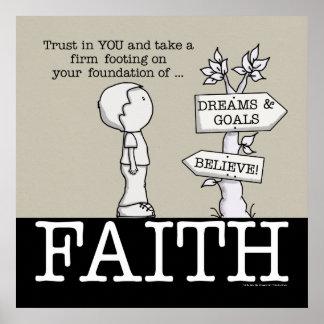 Foundation of Faith Poster