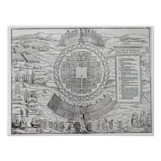 Foundation of Hochelaga Poster