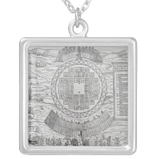 Foundation of Hochelaga Silver Plated Necklace