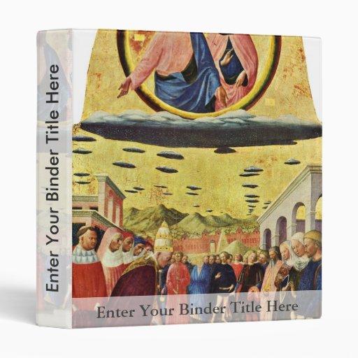 Foundation Of Santa Maria Maggiore By Masolino (Be Vinyl Binder