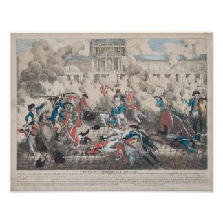 Foundation of the Republic, 10th August 1792 Posters