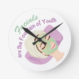 Foundation Of Youth Round Clock