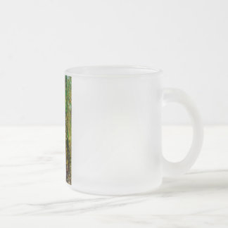 Foundations collection frosted glass coffee mug