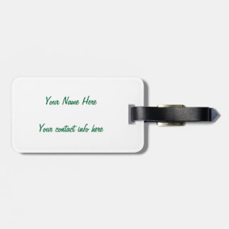 Foundations collection luggage tag