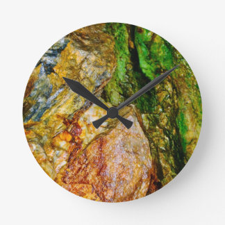 Foundations collection round clock